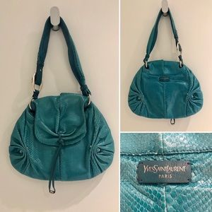 Yves Saint Laurent Vintage Snakeskin Rare Bag🌟